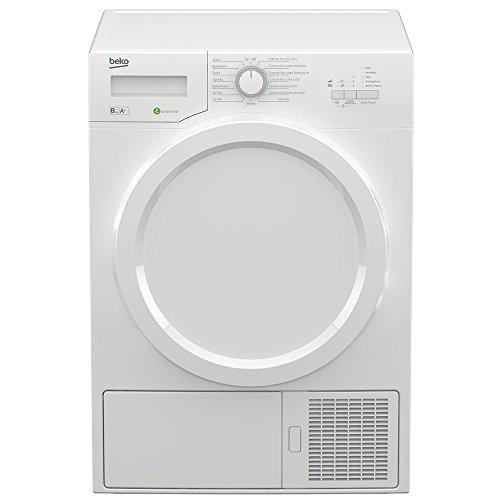 Beko DE8331PA0 Libera installazione Carica frontale 8kg A+ Bianco asciugatrice