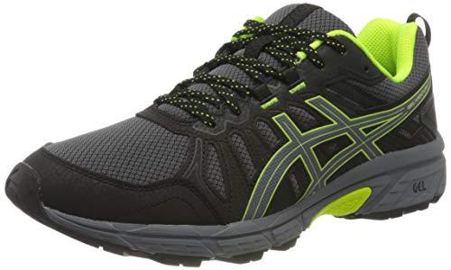 ASICS Mens Gel-Venture 7 Running Shoe, Blau Gelb,43.5 EU