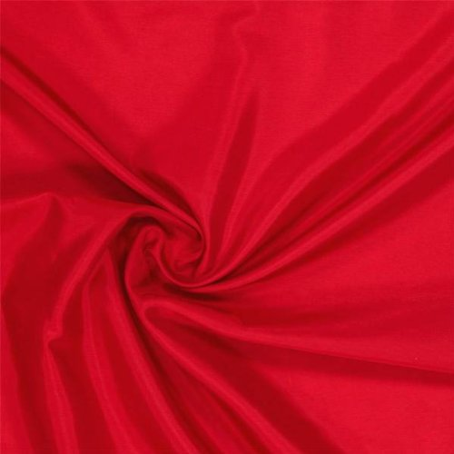 Doublure Tissu polyester au mètre - Rouge - Avenue des Tissus