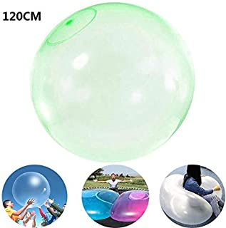 50cm//70cm//120cm Colore Casuale Palla Gonfiabile da Spiaggia per Bambini Adulti,Giochi allaperto Tanwenling33 Pallone Gonfiabile Trasparente Gigante Bubble Ball Acqua