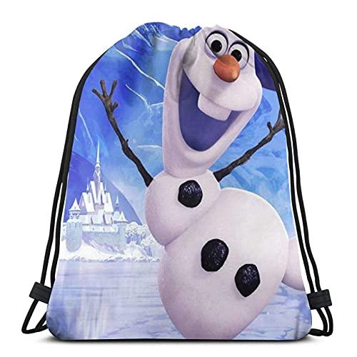 Bolsa de Deporte Gym Sack Frozen 28 Mochila con cordón Ajustable Cinch Pack