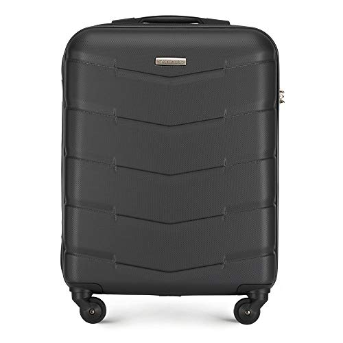 WITTCHEN Wittchen stevige koffer trolley handbagage boordkoffer kleine koffer 4 rollen cijferslot harde schalen rubberen handgrepen bak