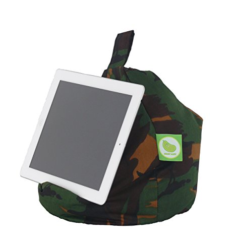 iPad, E-Reader & Bücher Mini BeanBag Sitzsack von Bean Lazy passend für alle Tablets and E-Readers - Army Camo