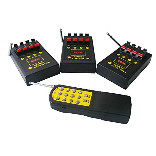 Sistema de encendido por radio de 12 canales.