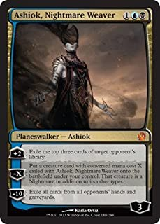 Magic: the Gathering - Ashiok, Nightmare Weaver (188/249) - Theros