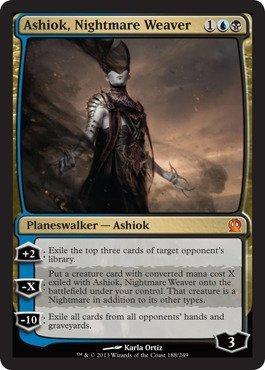 Magic The Gathering - Ashiok, Nightmare Weaver (188/249) - Theros