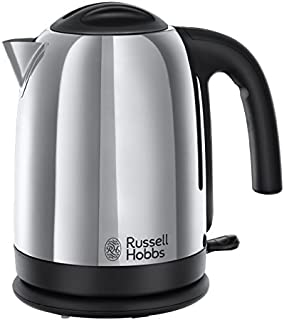 Russell Hobbs Cambridge Kettle 20071, 1.7 L, 3000 W - Polished Stainless Steel Silver