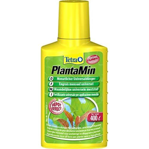 Tetra PlantaMin 100 ml, Sostanze Nutritive Fondamentali, per una Colorazione Verde e Rossa Intensa delle Foglie