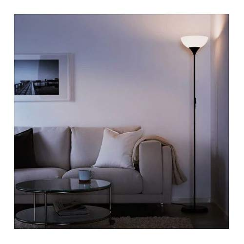 Ikea Not 201.398.74, Lámpara de pie para luz de techo, negro ...