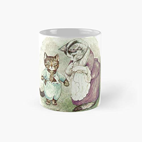 Bea.trix Pot.ter's Tom Kitten Classic Mug Birth-day Holi-day Gift Drink Home Kitchen