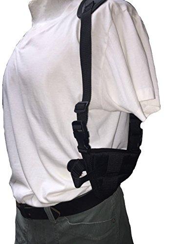 """Nylon Horizontal Deluxe Shoulder Holster Fits Beretta U22 NEOS: .22 LR 4.5"""" Barrel"""