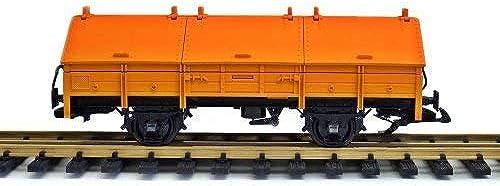 LGB Klappdeckelwagen, Umbau von Spur G auf Spur II (64mm)