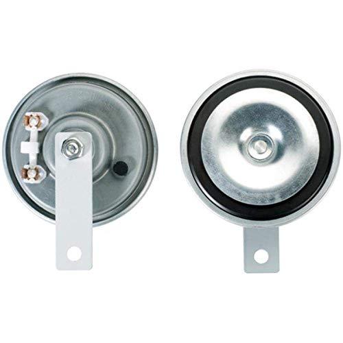 HELLA 3AL 002 952-811 Bocina - M26 - 12V - 115dB (A) - Rango de frecuencia: 400Hz - sonido agudo - Color de carcasa: gris - Conexión de enchufe plano