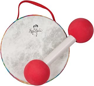 Has A Rainbow-Colored Shell With Two Fixed (Pretuned) Heads - Lynn Kleiner Baby Drum with Mallet