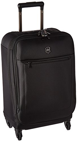 Victorinox Avolve 3.0 Softside Expandable Spinner Luggage, Black, Checked-Medium (26')