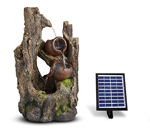 Transcendence Solar-Powered Garden Water Feature