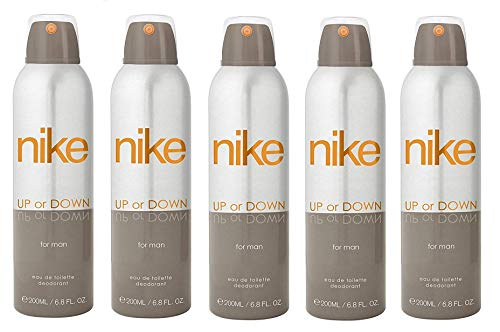 Nike Up or Down Deodorant For Man- Pack Of 5 (200ml Each)