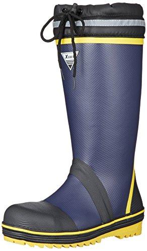 [ジーベック] 安全靴 85716 当社比20%の軽量化 セーフティ長靴 メンズ ネイビー 25.0~25.5 cm 3E