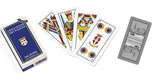 dal-negro- Trevisane Carte da Gioco, Multicolore, 015020