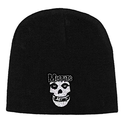 Official Merchandise Beanie Hat - Misfits - Logo & Fiend