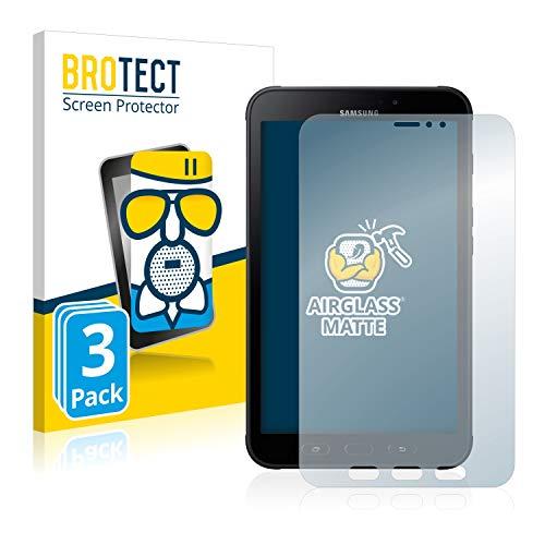 brotect Pellicola Vetro Opaca Compatibile con Samsung Galaxy Tab Active 2 (3 Pezzi) Protezione Schermo Anti-Riflesso Durezza 9H, AirGlass
