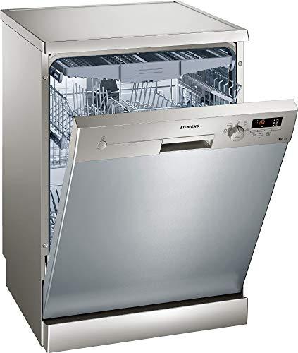 Siemens iQ100 SN215I01FE Independiente 14cubiertos A++ lavavajilla - Lavavajillas (Independiente, Cromo, Tamaño...