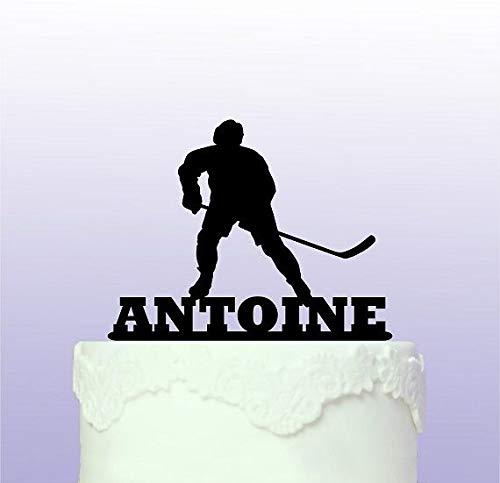 Kuchendekoration Eishockey, personalisierbar