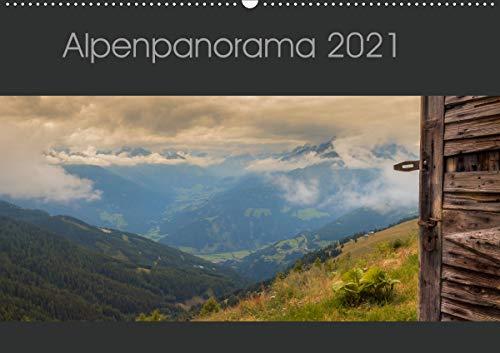 Alpenpanorama 2021 (Wandkalender 2021 DIN A2 quer)