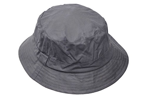 Walker and Hawkes, cappello da pesca, unisex, cerato, di colore blu scuro, taglia XS fino a 2 XL Blu scuro XXL