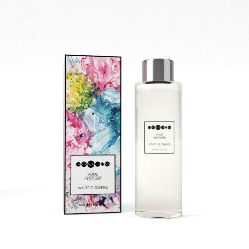 Essens Home Perfume - Recambio para flores blancas, 150...
