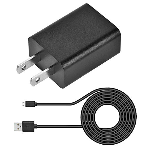 SZYSK UL Kindle Fire Power Cord AC Adapter 2A Rapid Charger with 5ft Micro-USB Cable Compatible for Fast Charging Hd Hdx 6' 7' 8.9' 9.7' Tablet and Phone Tab Power Cord