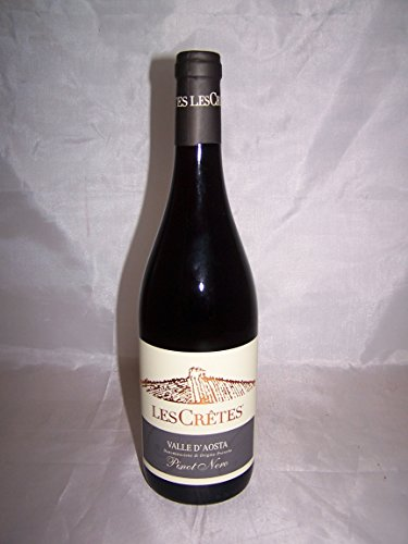 Pinot Nero 75 cl Les Cretes 2012 Rosso Valle D'aosta Dop = 16.93 €/L