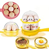 Tormeti Egg Boiler Electric Automatic Off 3 Layer 21 Egg Poacher for Steaming, Cooking, Boiling and...