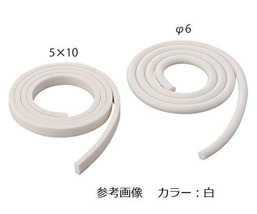アズワン シリコンスポンジ 茶色 角型 25×25mm×1m/61-9434-24