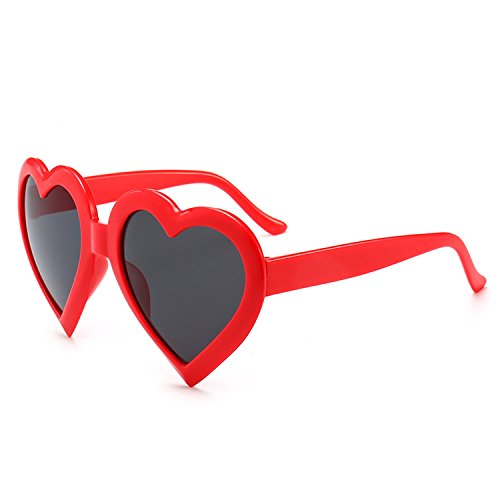 2018 new sunglasses men and women sunglasses personality glasses,Red frame black gray piece