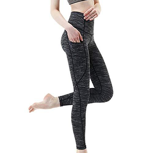 IFOUNDYOU Damen Leggings Damen, Yogahose Sporthose Frau Drucken Sport Yoga Trainieren Fitnessstudio Fitness ÜbungSportlich Hose Sport Leggings Tights Damen