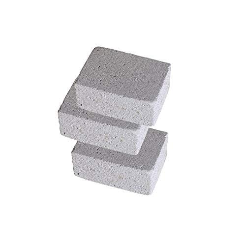 EUROXANTY® Reinigungsstein | Reinigungsblock für Grillroste | Bimsstein | Fettlöser | Reinigungsstein für Pool | 3 Stück