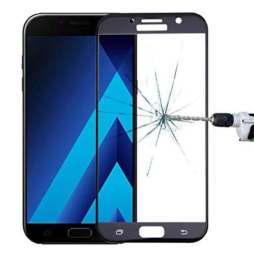 Película de vidrio Para Samsung Galaxy A7 (2017) / A720 0.26mm 9H Dureza de la superficie a prueba de explosiones pantalla de seda de vidrio templado curva película de pantalla completa Película de vi