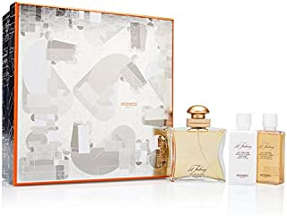 24 Faubourg by Hermes for Women 3 Piece Set Includes: 1.6 oz Eau de Toilette Spray + 1.35 oz Perfumed Body Lotion + 1.35 oz Perfumed Shower Cream