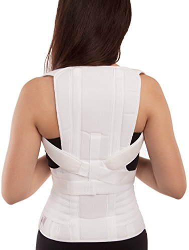 GABRIALLA Mid and Lower Back Posture Corrector for Women TLSO-250: Medium