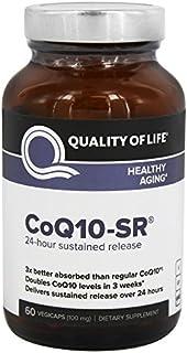 Quality Of Life CoQ10-SR Healthy Aging Vegetarian Capsules, (60 Capsules)