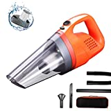Car Vacuum Cleaner, High Power Corded Vacuum 150W/6000Pa, Wet/Dry Car Interior Cleaner, Cleaning for Dust Pet Hair Dirt Debris, GSSUSA Car Cleaning Product 2020 New