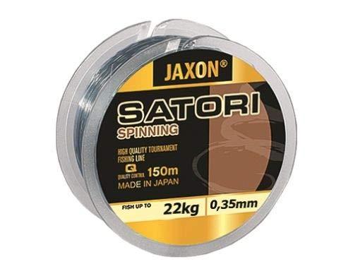 Jaxon Sedal de pesca Satori Spinning, bobina de 150 m, monofilamento (0,25 mm/13 kg)