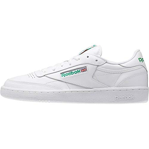 Reebok Club C 85, Deman Niedrig, Weiß (Int / White / Green), 50 EU