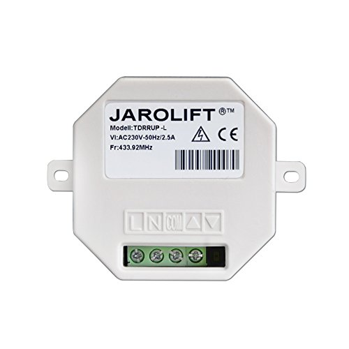 Jarolift Funkempfänger - 1-Kanal Funk-Lichtschalter Unterputz TDRRUP-L