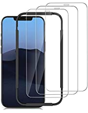 opamoo [3-Stuks] Screen Protector voor iPhone 12 /iPhone 12 Pro (6.1''),Screenprotector voor iPhone 12 Pro Volledige Scherm met Uitlijning Frame Geen Bubbels 9H Beschermglas iPhone 12 /iPhone 12 Pro
