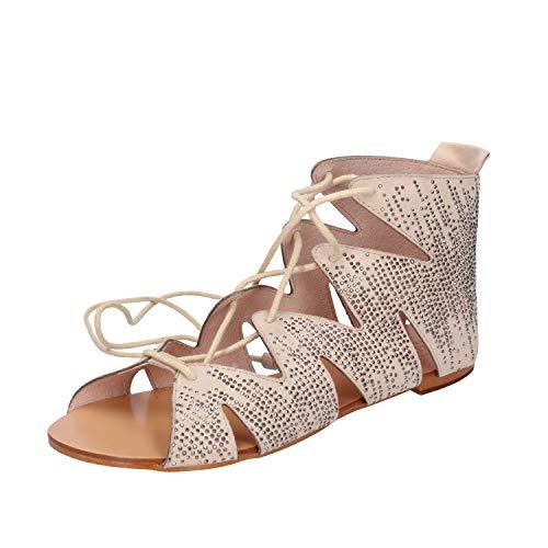 BIBI LOU Modieuze sandalen Dames Suède Beige