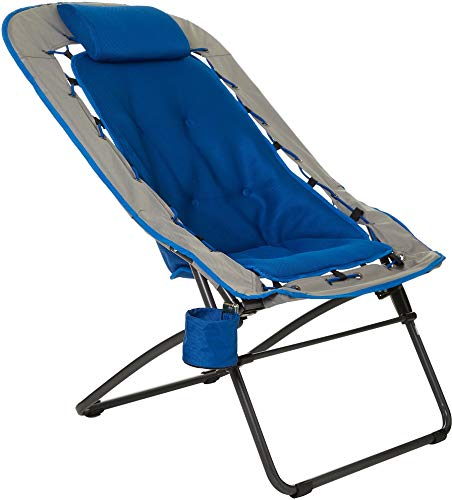 Foldable Rectangular Air Mesh Indoor Outdoor Bungee Chair (Pack of 1)