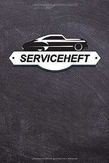 Serviceheft: PKW Scheckheft universal fuer alle PKW Marken / Wartungsheft / Kundendienstheft
