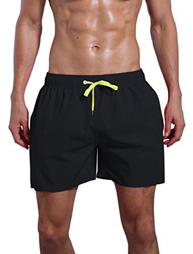 ORANSSI Men's Quick Dry Swim Trunks Bathing Suit Beach Shorts